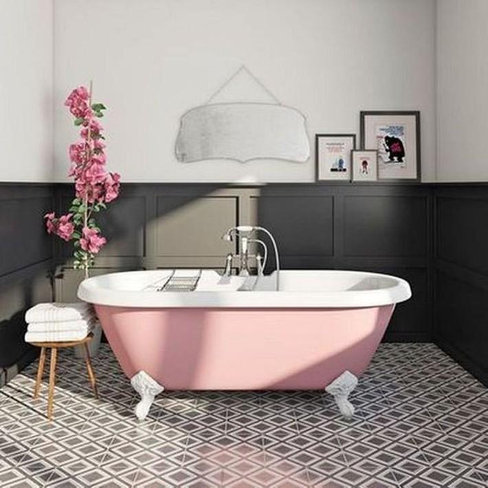 Những thiết kế bồn tắm tinh tế giúp bạn luôn lâng lâng như trong khách sạn - Ảnh 11.
