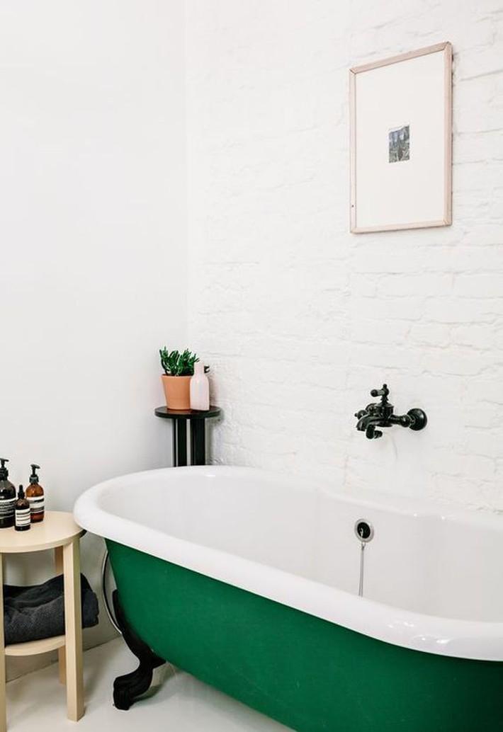 Những thiết kế bồn tắm tinh tế giúp bạn luôn lâng lâng như trong khách sạn - Ảnh 12.