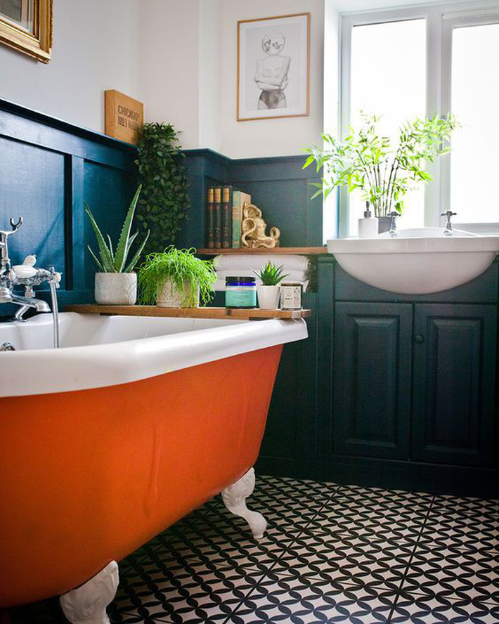 Những thiết kế bồn tắm tinh tế giúp bạn luôn lâng lâng như trong khách sạn - Ảnh 13.