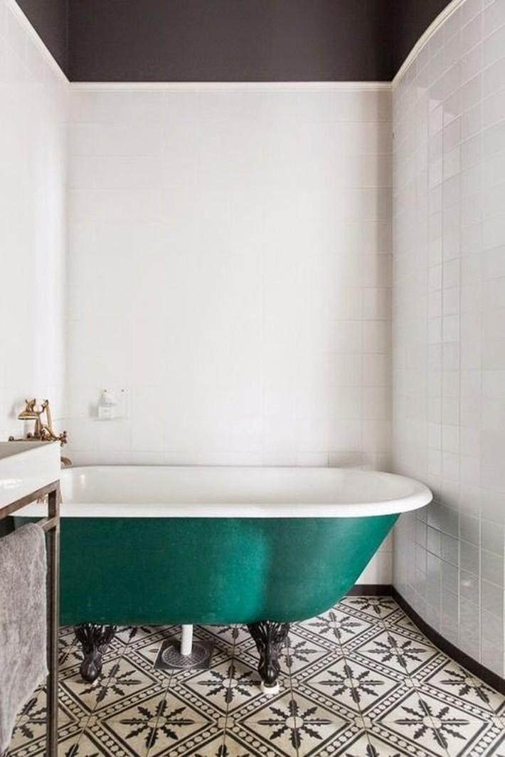 Những thiết kế bồn tắm tinh tế giúp bạn luôn lâng lâng như trong khách sạn - Ảnh 14.