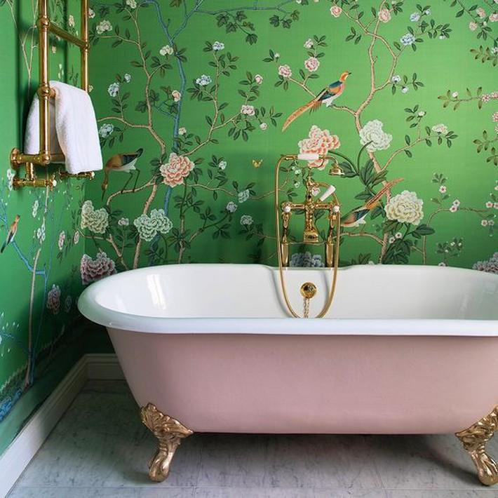 Những thiết kế bồn tắm tinh tế giúp bạn luôn lâng lâng như trong khách sạn - Ảnh 15.