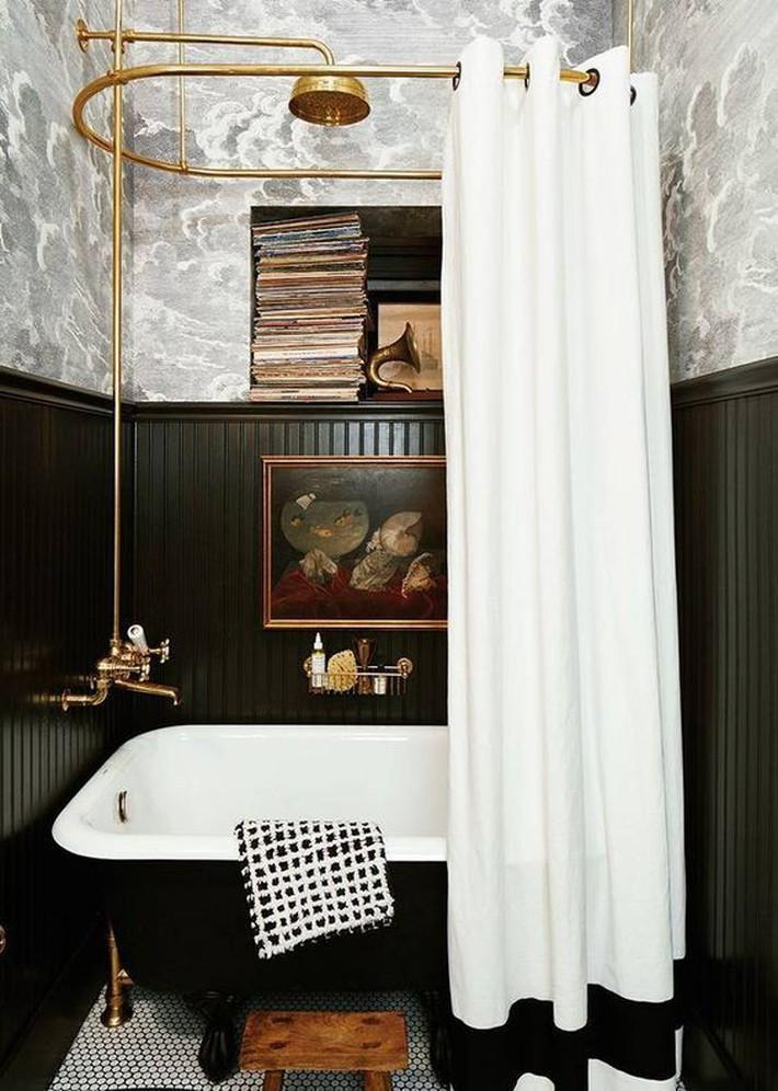 Những thiết kế bồn tắm tinh tế giúp bạn luôn lâng lâng như trong khách sạn - Ảnh 3.