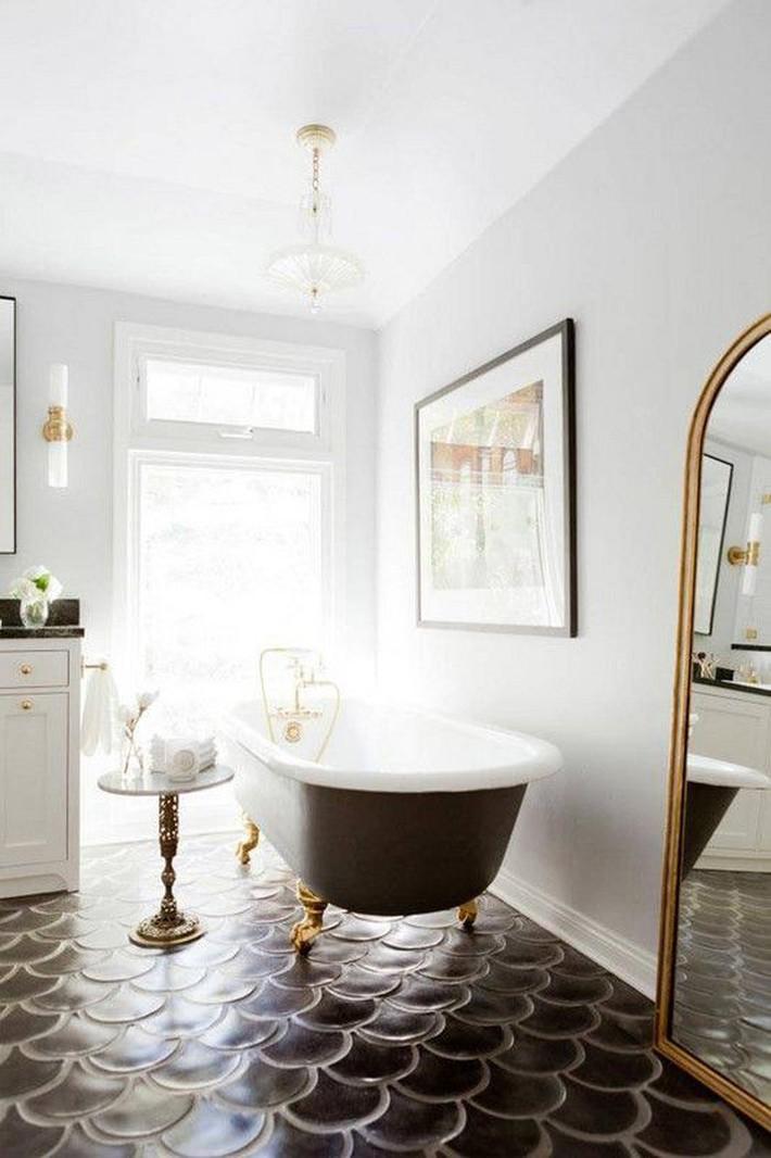 Những thiết kế bồn tắm tinh tế giúp bạn luôn lâng lâng như trong khách sạn - Ảnh 4.