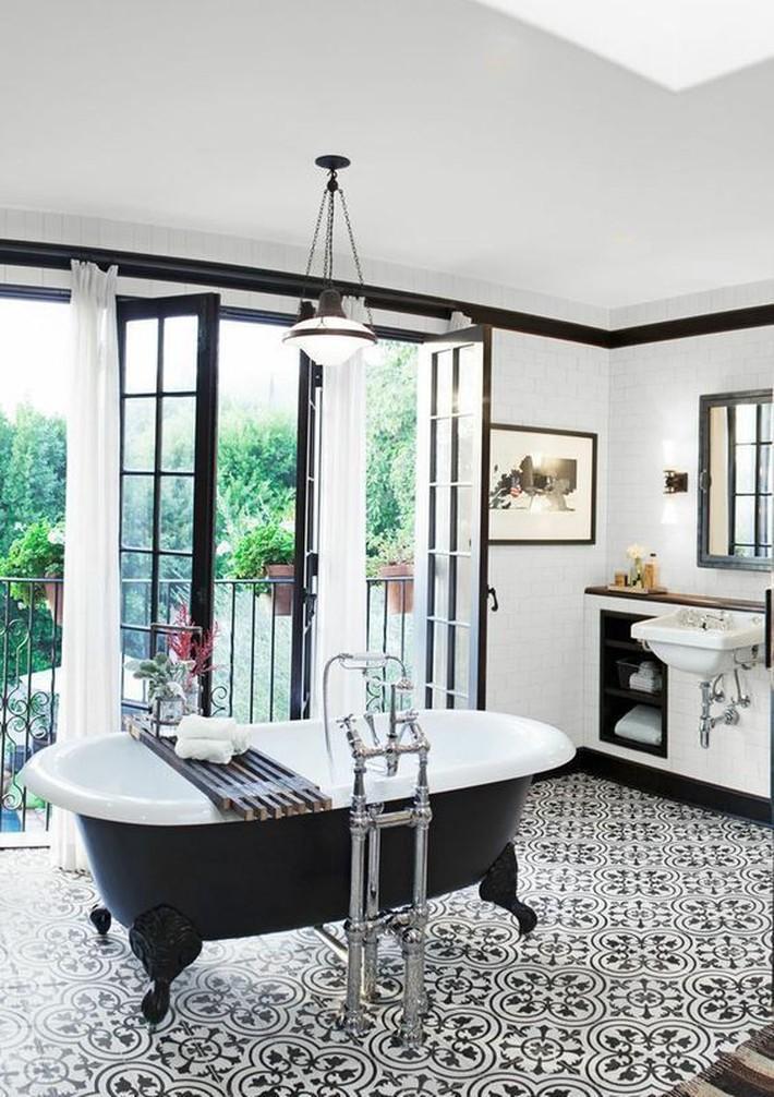Những thiết kế bồn tắm tinh tế giúp bạn luôn lâng lâng như trong khách sạn - Ảnh 5.