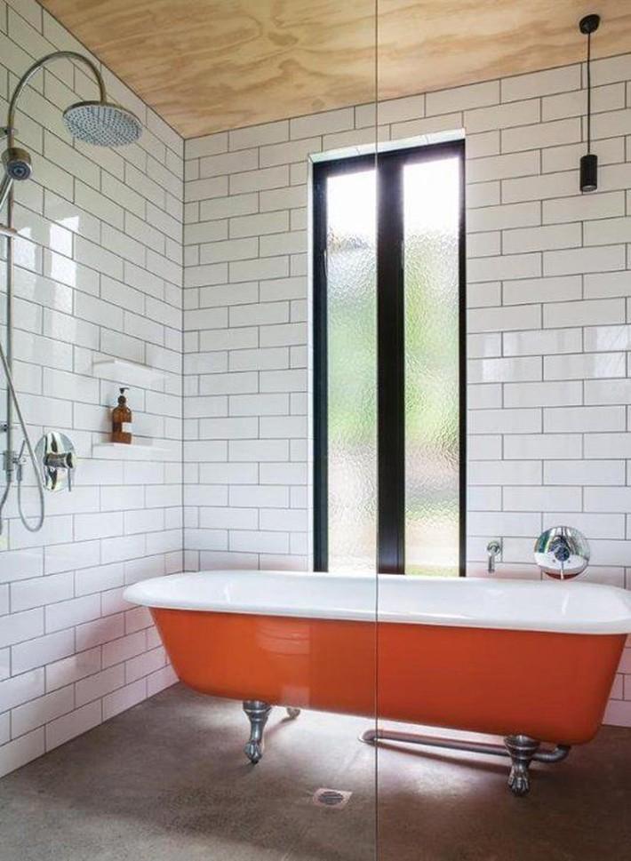 Những thiết kế bồn tắm tinh tế giúp bạn luôn lâng lâng như trong khách sạn - Ảnh 7.