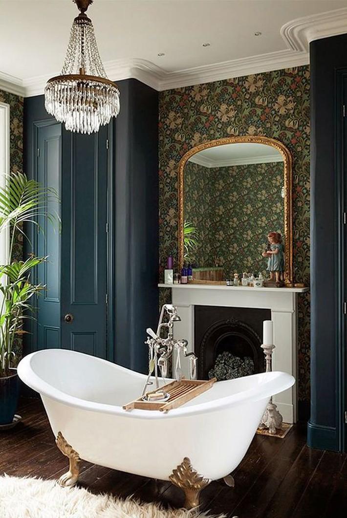 Những thiết kế bồn tắm tinh tế giúp bạn luôn lâng lâng như trong khách sạn - Ảnh 8.