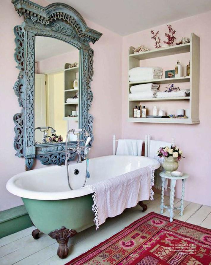 Những thiết kế bồn tắm tinh tế giúp bạn luôn lâng lâng như trong khách sạn - Ảnh 9.