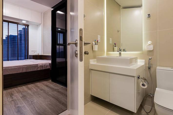 Căn hộ 50m² vừa tối giản, vừa đậm chất công nghiệp cực cá tính ở quận 2, Sài Gòn - Ảnh 10.