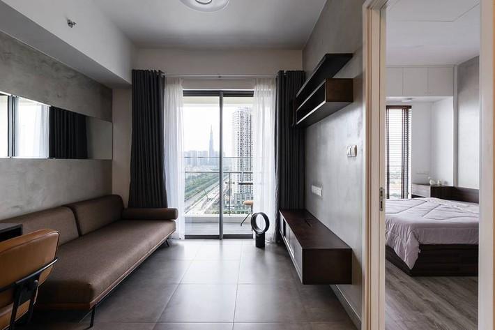 Căn hộ 50m² vừa tối giản, vừa đậm chất công nghiệp cực cá tính ở quận 2, Sài Gòn - Ảnh 3.