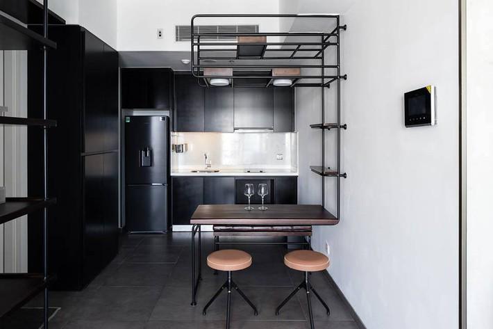 Căn hộ 50m² vừa tối giản, vừa đậm chất công nghiệp cực cá tính ở quận 2, Sài Gòn - Ảnh 2.