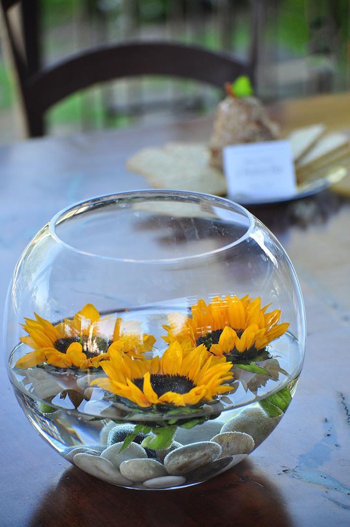 Hoa hướng dương - sắc màu tươi vui, hạnh phúc cho tiệc cưới của bạn - Ảnh 11.