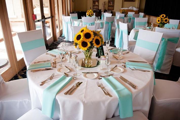 Hoa hướng dương - sắc màu tươi vui, hạnh phúc cho tiệc cưới của bạn - Ảnh 7.
