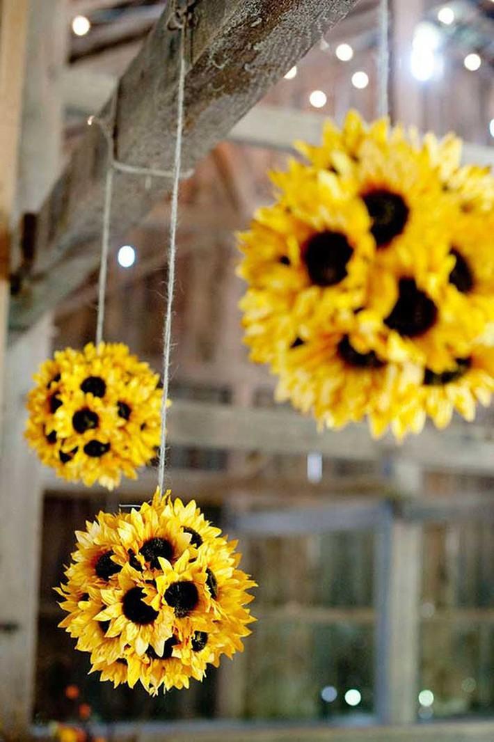 Hoa hướng dương - sắc màu tươi vui, hạnh phúc cho tiệc cưới của bạn - Ảnh 9.