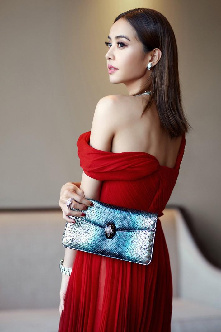 """""""Mỹ nhân đẹp nhất Thái Lan"""" Chompoo Araya ngọt ngào như công chúa đối lập, Thái Y Lâm sexy hết nấc khi diện chung váy - Ảnh 4."""