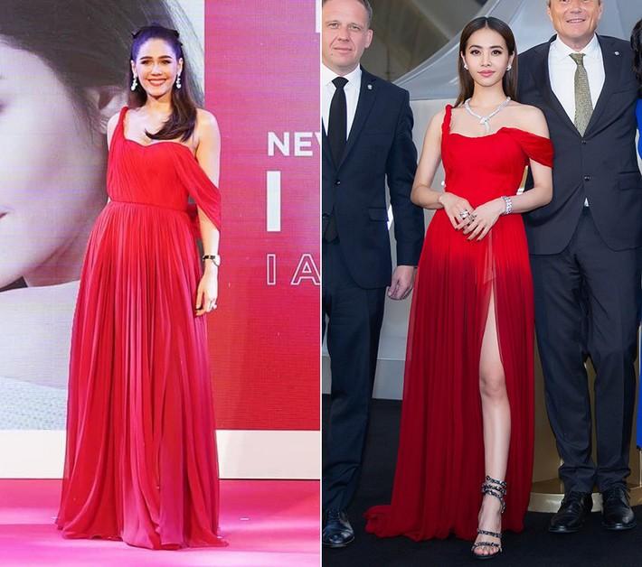 """""""Mỹ nhân đẹp nhất Thái Lan"""" Chompoo Araya ngọt ngào như công chúa đối lập, Thái Y Lâm sexy hết nấc khi diện chung váy - Ảnh 7."""