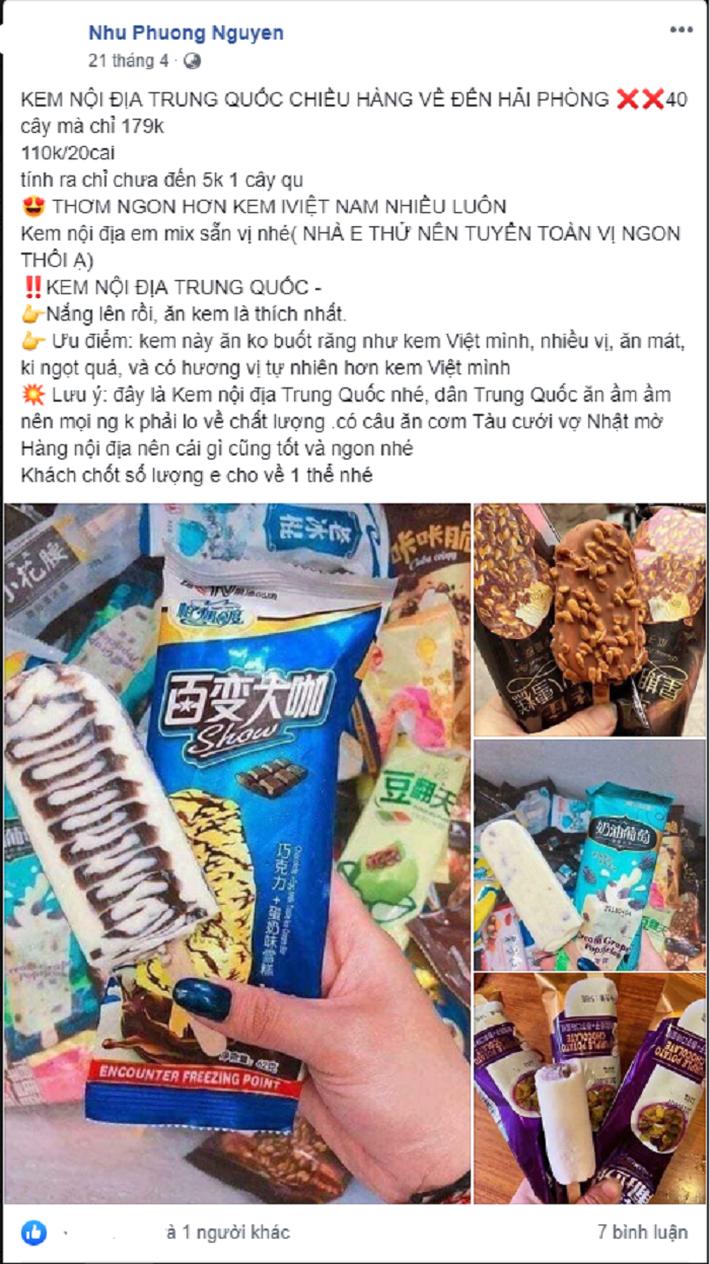 Tất tần tật về giá kem Trung Quốc siêu rẻ đang hot trên thị trường ngày nóng - Ảnh 3.