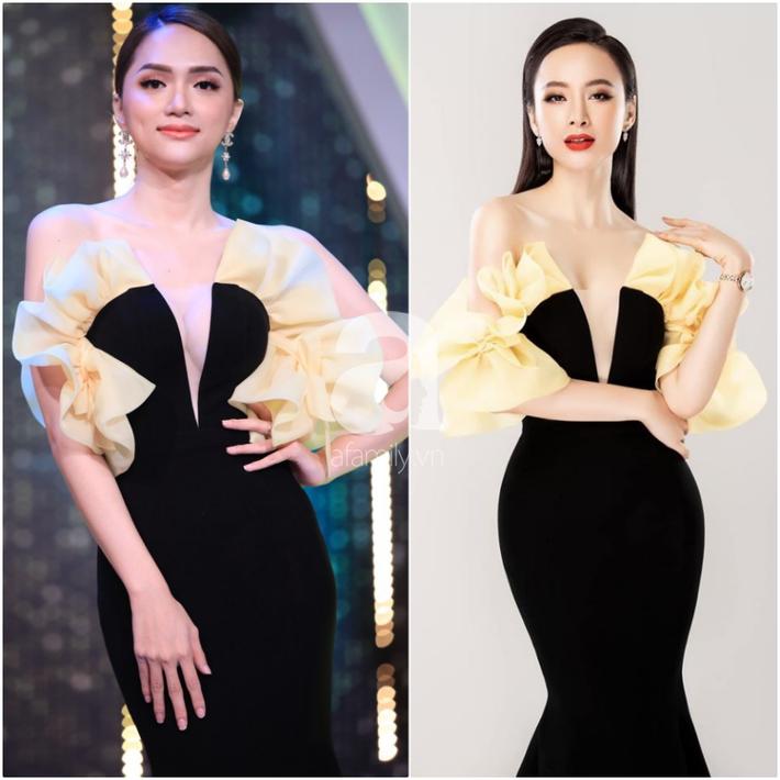 """Một bộ đầm - hai số phận: Đụng hàng của Angela Phương Trinh, HH Hương Giang mặc """"sai lè"""" mà chẳng hề hay biết - Ảnh 4."""