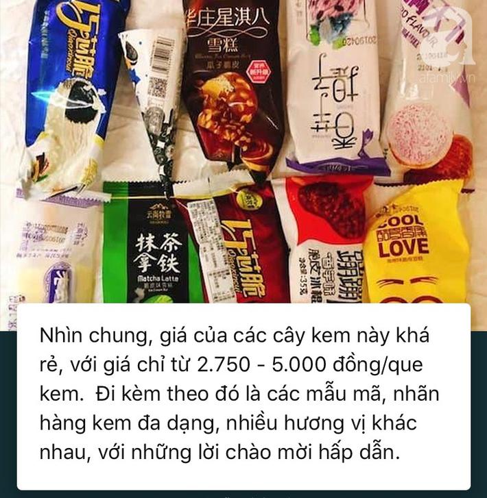 Tất tần tật về giá kem Trung Quốc siêu rẻ trên thị trường ngày nóng - Ảnh 3.