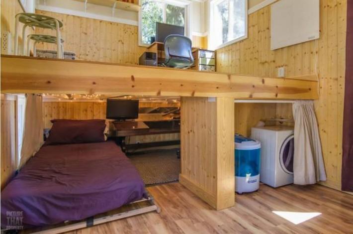 Bất ngờ với nhà gỗ mini đủ đầy các chức năng cho cuộc sống thường ngày - Ảnh 6.