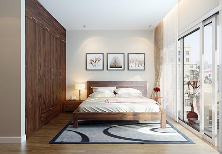 Tư vấn thiết kế phòng ngủ dành cho người chuẩn bị kết hôn rộng 4x4.5m - Ảnh 3.