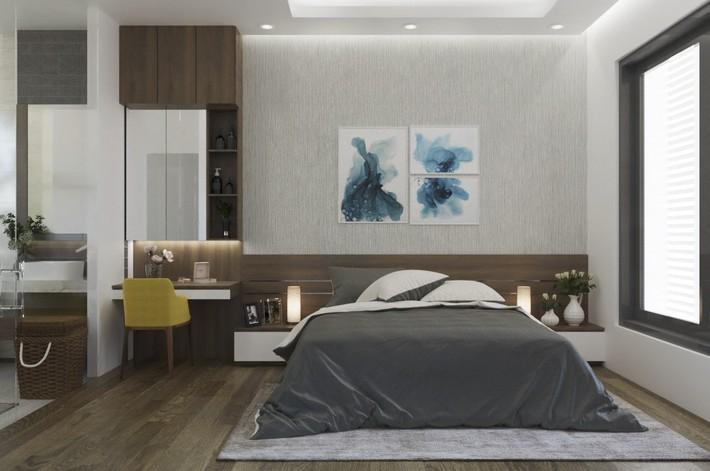 Tư vấn thiết kế phòng ngủ dành cho người chuẩn bị kết hôn rộng 4x4.5m - Ảnh 4.
