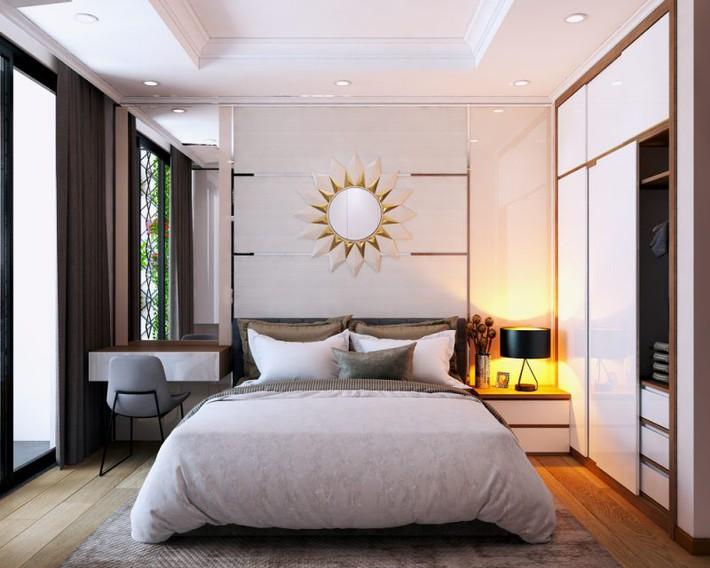 Tư vấn thiết kế phòng ngủ dành cho người chuẩn bị kết hôn rộng 4x4.5m - Ảnh 5.