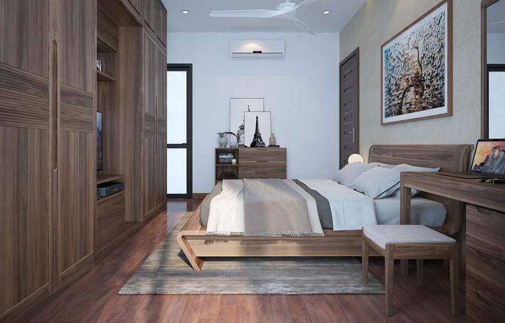 Tư vấn thiết kế phòng ngủ dành cho người chuẩn bị kết hôn rộng 4x4.5m - Ảnh 6.
