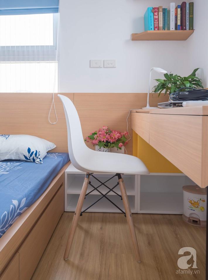 Căn hộ 66m2 với thiết kế đơn giản, thuận tiện cho cuộc sống hiện đại của gia chủ yêu màu xanh biển - Ảnh 11.