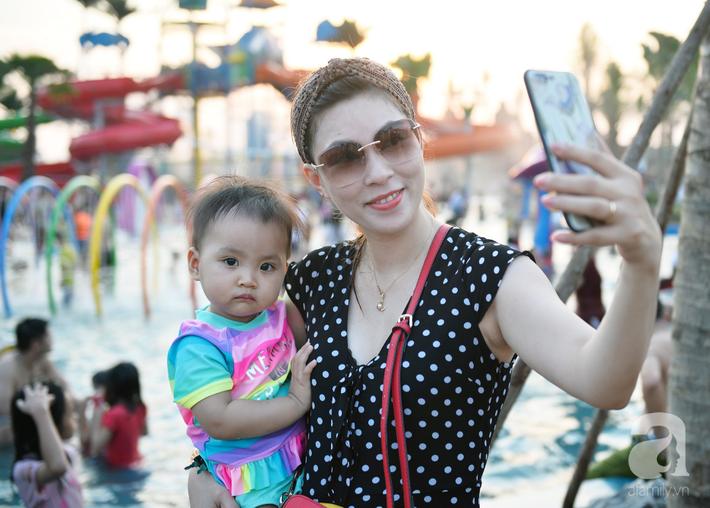 Những hình ảnh tuyệt đẹp trong công viên nước khổng lồ mới ở ngoại thành Hà Nội, thu hút các gia đình dịp hè này - Ảnh 12.