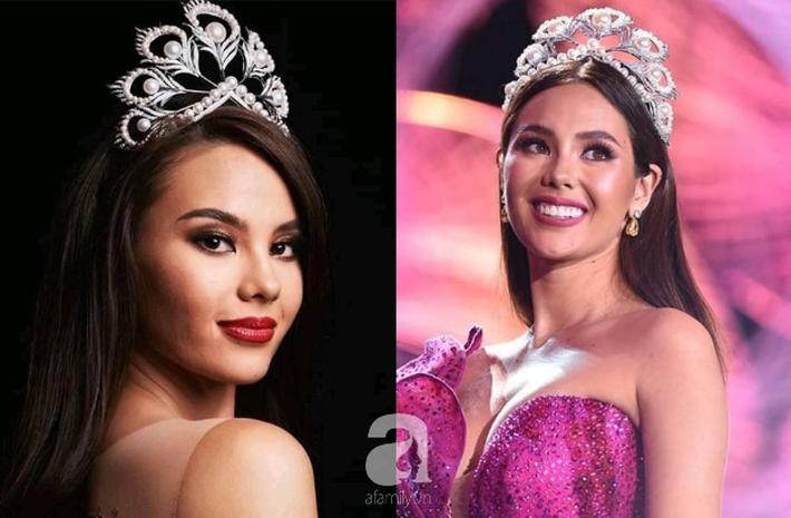 Hoa hậu Catriona Gray đội vương miệng fake trong đêm chung kết HH Hoàn vũ Philippines với lý do dở khóc dở cười - Ảnh 3.