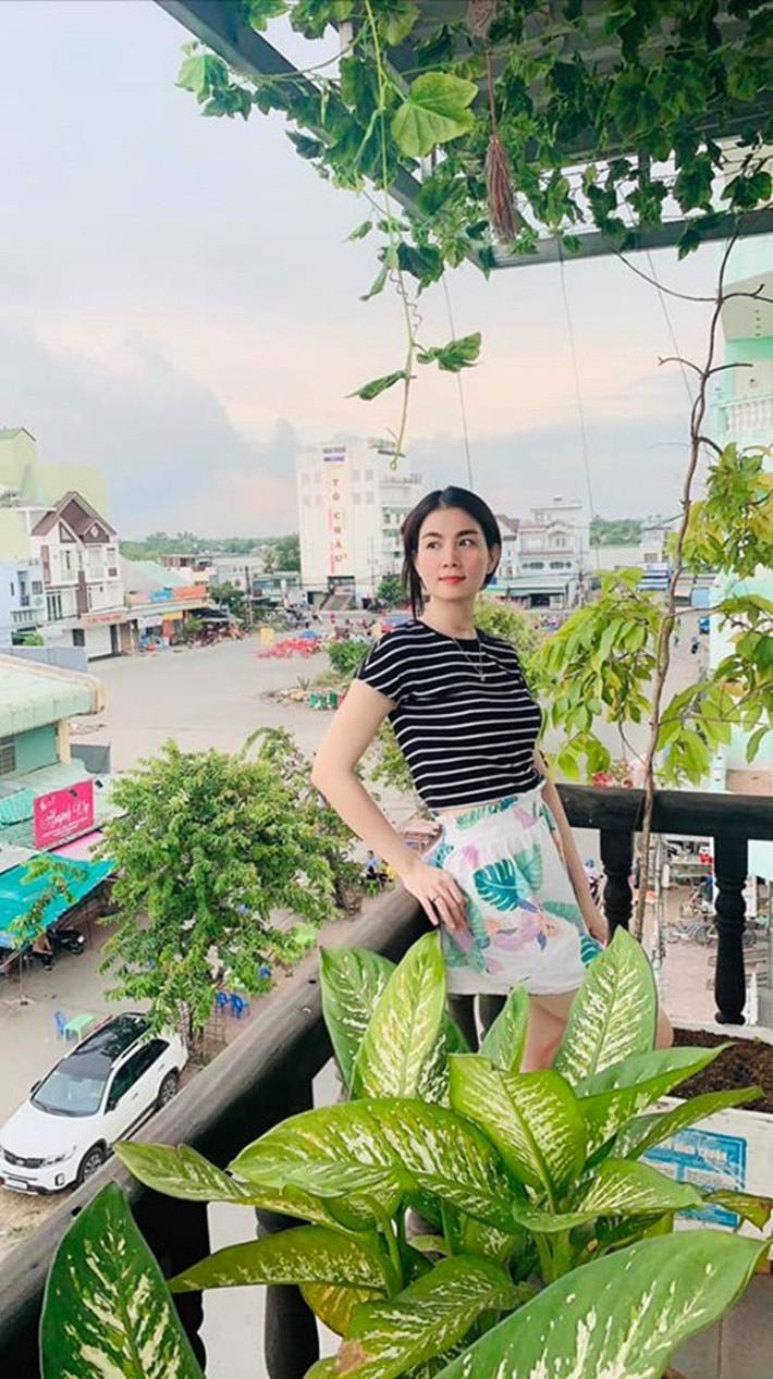 Vườn rau thủy canh ăn không xuể trên sân thượng nhà diễn viên Kha Ly - Thanh Duy - Ảnh 8.