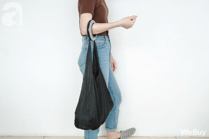 túi đi chợ thân thiện môi trường giảm rác nhựa không dùng túi ni lon webuy afamily DSC06506