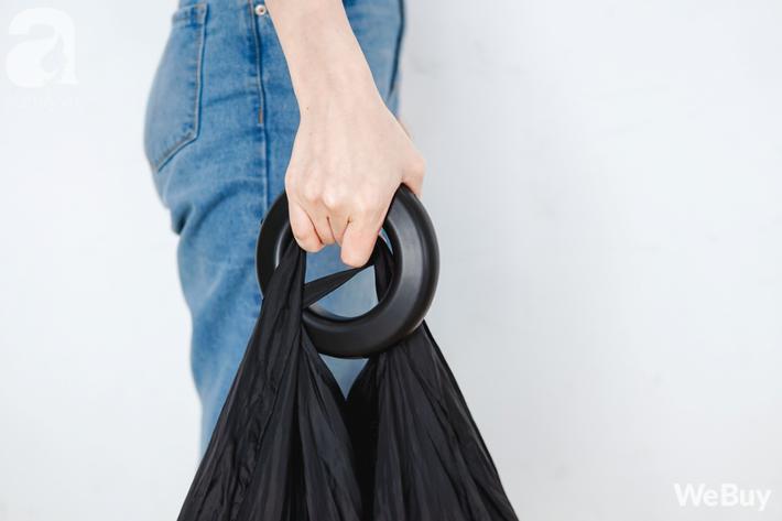 túi đi chợ thân thiện môi trường giảm rác nhựa không dùng túi ni lon webuy afamily DSC06507