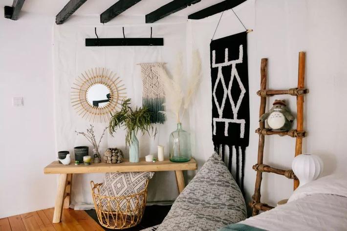 Phòng ngủ 26m2 cũ kỹ, tẻ nhạt biến thành không gian sống đáng yêu theo phong cách Maroc của cô gái trẻ - Ảnh 15.