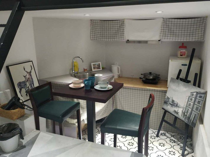 Phòng ngủ 26m2 cũ kỹ, tẻ nhạt biến thành không gian sống đáng yêu theo phong cách Maroc của cô gái trẻ - Ảnh 11.