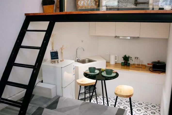 Phòng ngủ 26m2 cũ kỹ, tẻ nhạt biến thành không gian sống đáng yêu theo phong cách Maroc của cô gái trẻ - Ảnh 12.