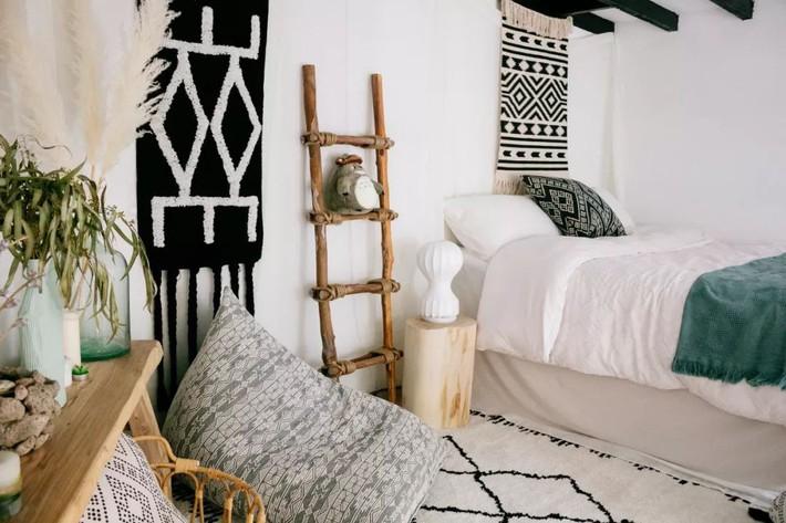 Phòng ngủ 26m2 cũ kỹ, tẻ nhạt biến thành không gian sống đáng yêu theo phong cách Maroc của cô gái trẻ - Ảnh 14.