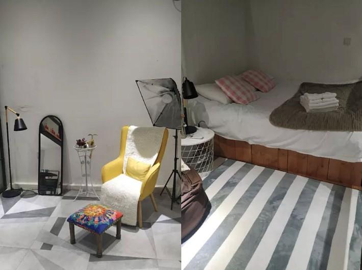 Phòng ngủ 26m2 cũ kỹ, tẻ nhạt biến thành không gian sống đáng yêu theo phong cách Maroc của cô gái trẻ - Ảnh 13.