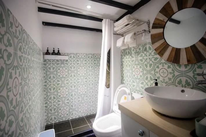 Phòng ngủ 26m2 cũ kỹ, tẻ nhạt biến thành không gian sống đáng yêu theo phong cách Maroc của cô gái trẻ - Ảnh 10.
