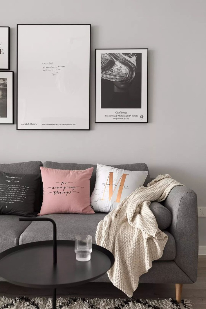 Cô gái xinh đẹp dành 4 tháng cải tạo căn hộ 72m2 thành không gian sống đẹp hiện đại với màu trung tính - Ảnh 9.