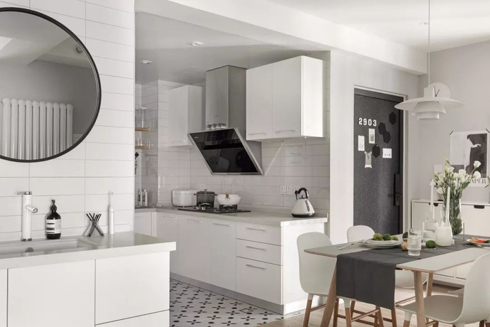 Trang trí cải tạo căn hộ với góc bếp hiện đại - Ảnh 12.