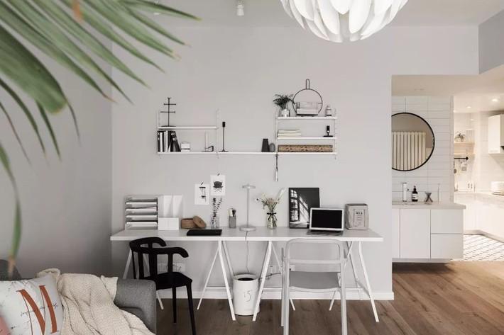 Cô gái xinh đẹp dành 4 tháng cải tạo căn hộ 72m2 thành không gian sống đẹp hiện đại với màu trung tính - Ảnh 3.