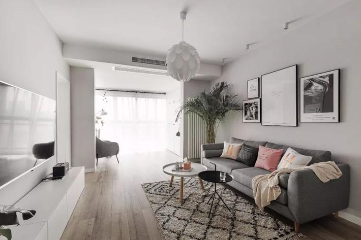 Cô gái xinh đẹp dành 4 tháng cải tạo căn hộ 72m2 thành không gian sống đẹp hiện đại với màu trung tính - Ảnh 8.
