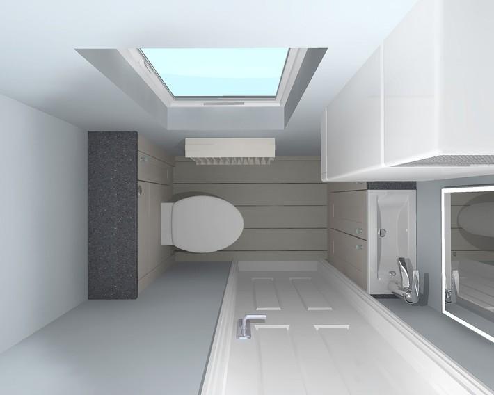 Tư vấn thiết kế nhà cho gia đình 6 thành viên trên mảnh đất 8,5x5m - Ảnh 6.