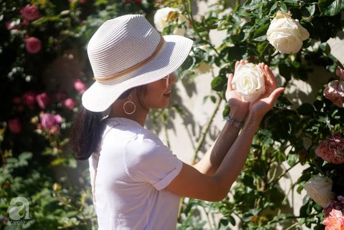 Giàn hồng nghìn bông đẹp như thiên đường hàng ngày được trồng chăm sóc để dành tặng vợ - Ảnh 5.