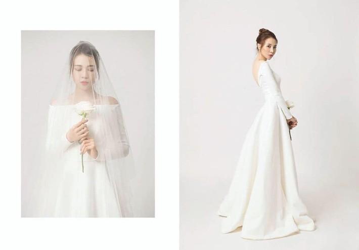 """So kè váy cưới của 3 mỹ nhân Vbiz sắp """"về nhà chồng"""": Phí Linh nền nã, Phương Mai sexy nhưng bất ngờ nhất là Đàm Thu Trang - Ảnh 3."""