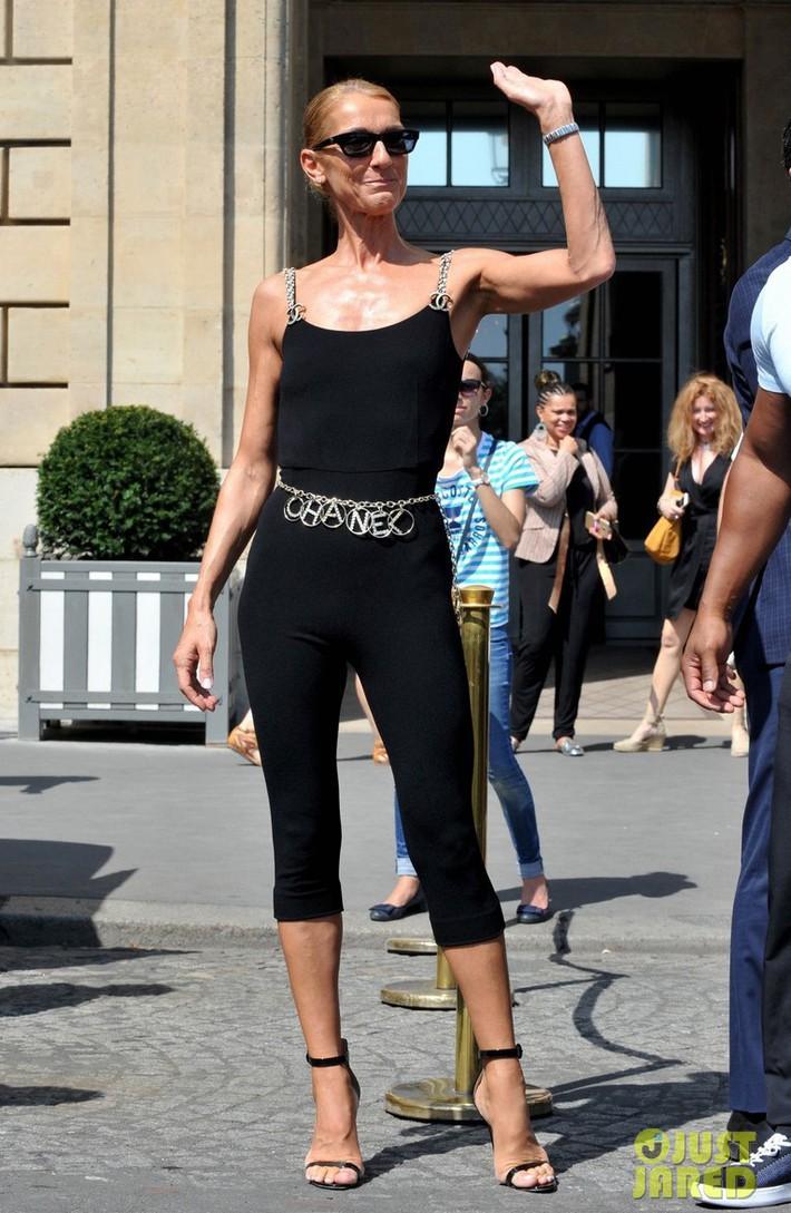 Lên đồ cũn cỡn như đồ bơi ra phố khoe chân nâu giòn, xem ra Celine Dion đã chất chơi quá đà rồi! - Ảnh 4.