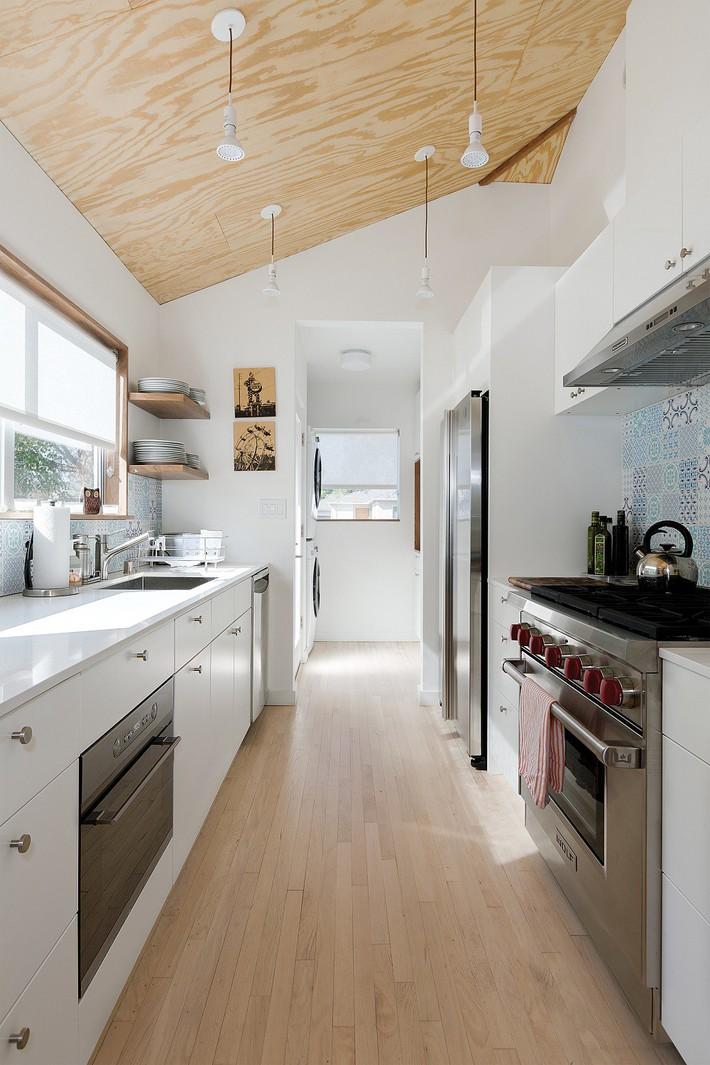 kế nhà bếp của mình theo phong cách Galley