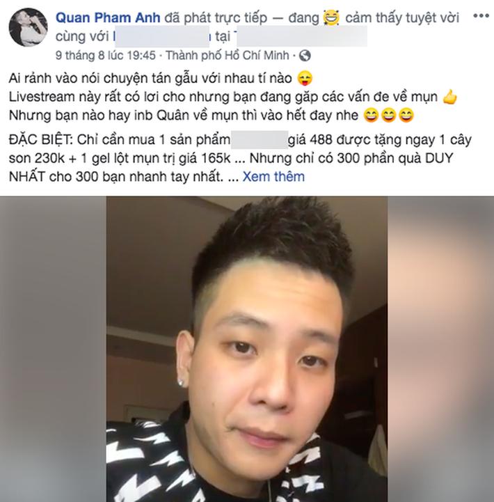 Sóng gió với Jack chưa yên, Quân A.P đã bị netizen Việt phản ứng cực mạnh vì quảng cáo kem trộn - Ảnh 1.