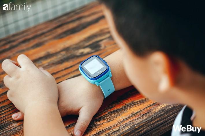 đánh giá đồng hồ định vị trẻ em wonlex gw400s webuy afamily DSC07971